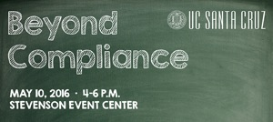 Beyond compliance event flyer
